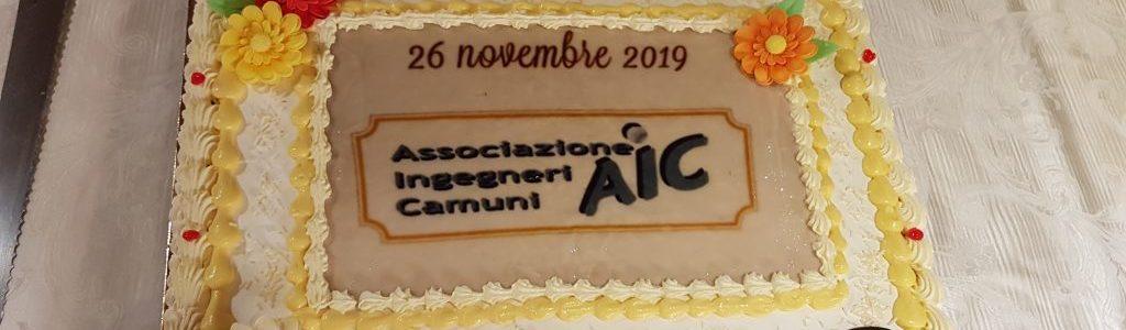 CENA CONVIVIALE A.I.C. 2019